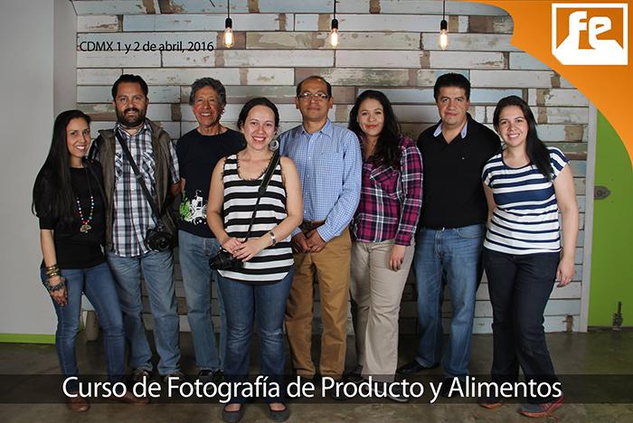 Curso en Fotografía de Producto y Alimentos