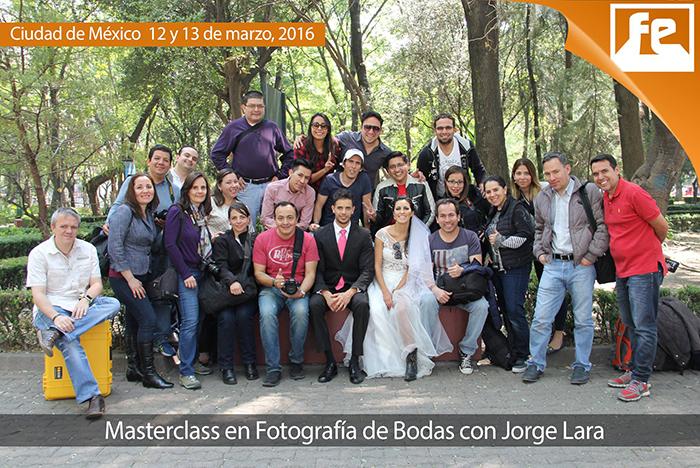 Masterclass de Fotografía de Bodas Jorge Lara