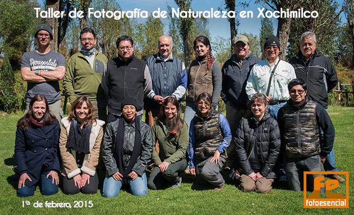 Taller de Fotografía de Naturaleza en Xochimilco