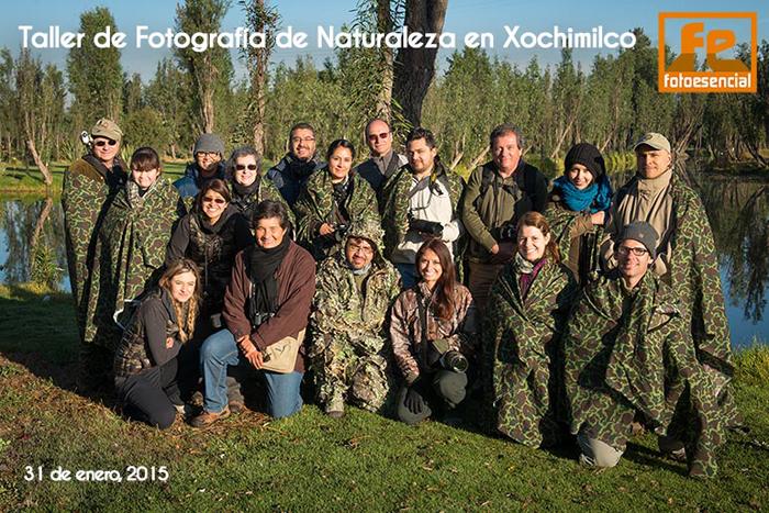 Taller de Fotografia de Naturaleza en Xochimilco