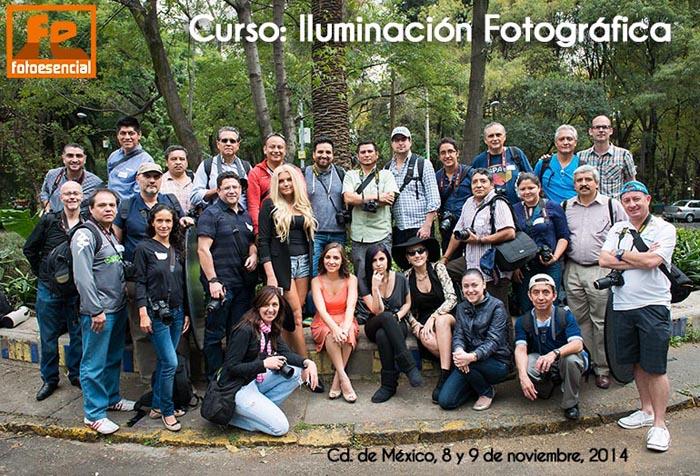 Curso de Iluminacion Fotografica en DF