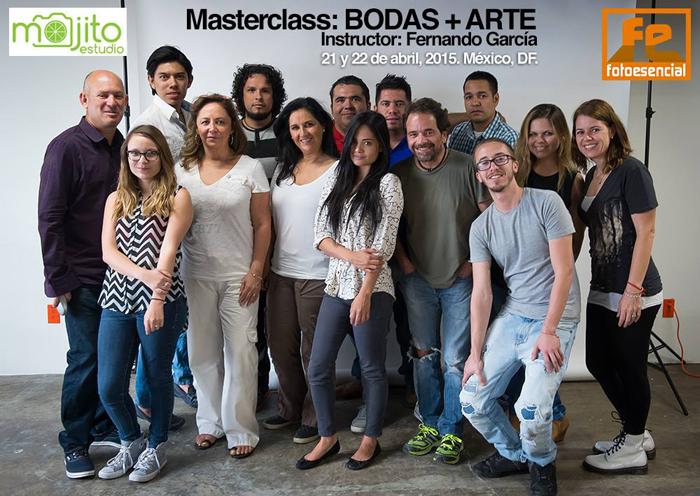 Masterclass Boda + arte