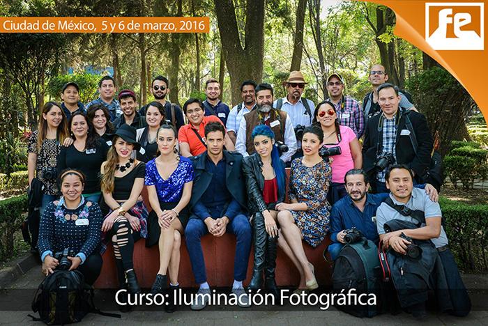 Curso de Iluminación Fotografica