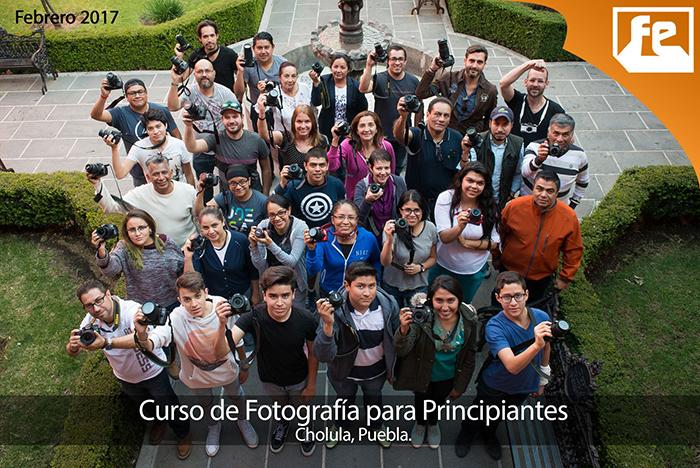 Curso de Fotografía en Puebla